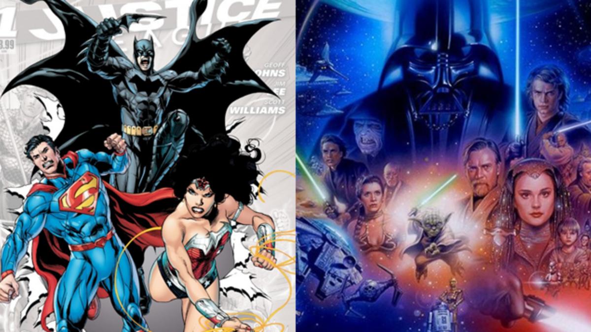 Художник изобразил кроссовер «Звездных войн» и вселенной DC