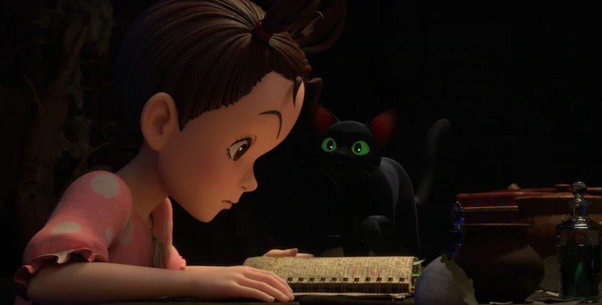 Студия Ghibli поделилась новыми кадрами из предстоящего фильма Горо Миядзаки «Ая и ведьма»
