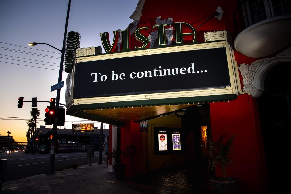 Кинотеатры Лос-Анджелеса должны вновь открыться через неделю