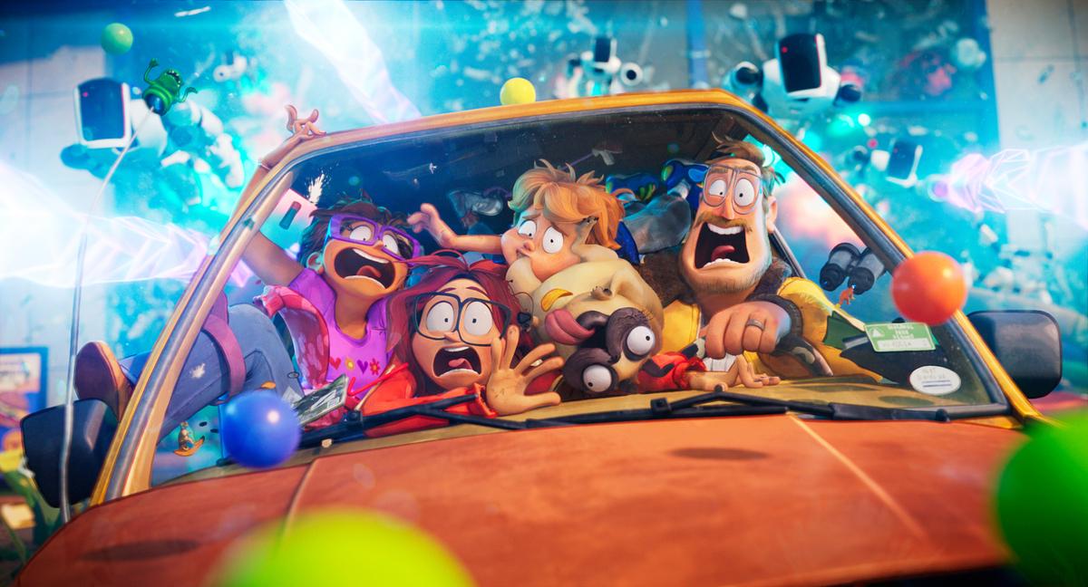 Netflix выпустил проморолик о создании сериала «Митчеллы против машин»