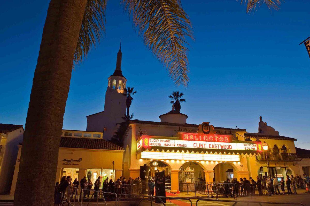 Кинопоказы очередного Международного фестиваля в Санта-Барбаре состоятся под открытым небом