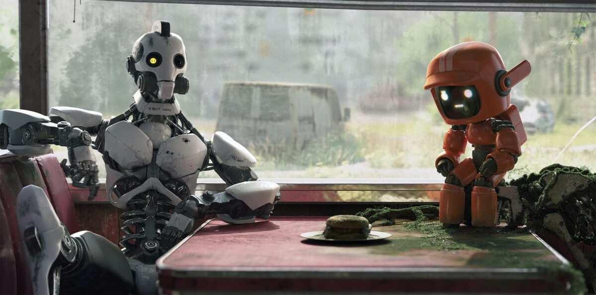 Netflix представил постер второго сезона анимационной антологии «Любовь. Смерть. Роботы»