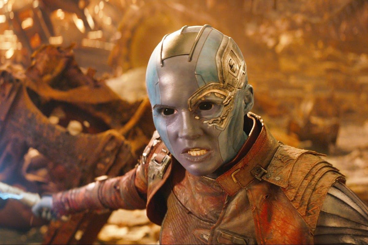 Карен Гиллан тизерит будущее Небулы после Таноса в киновселенной Marvel