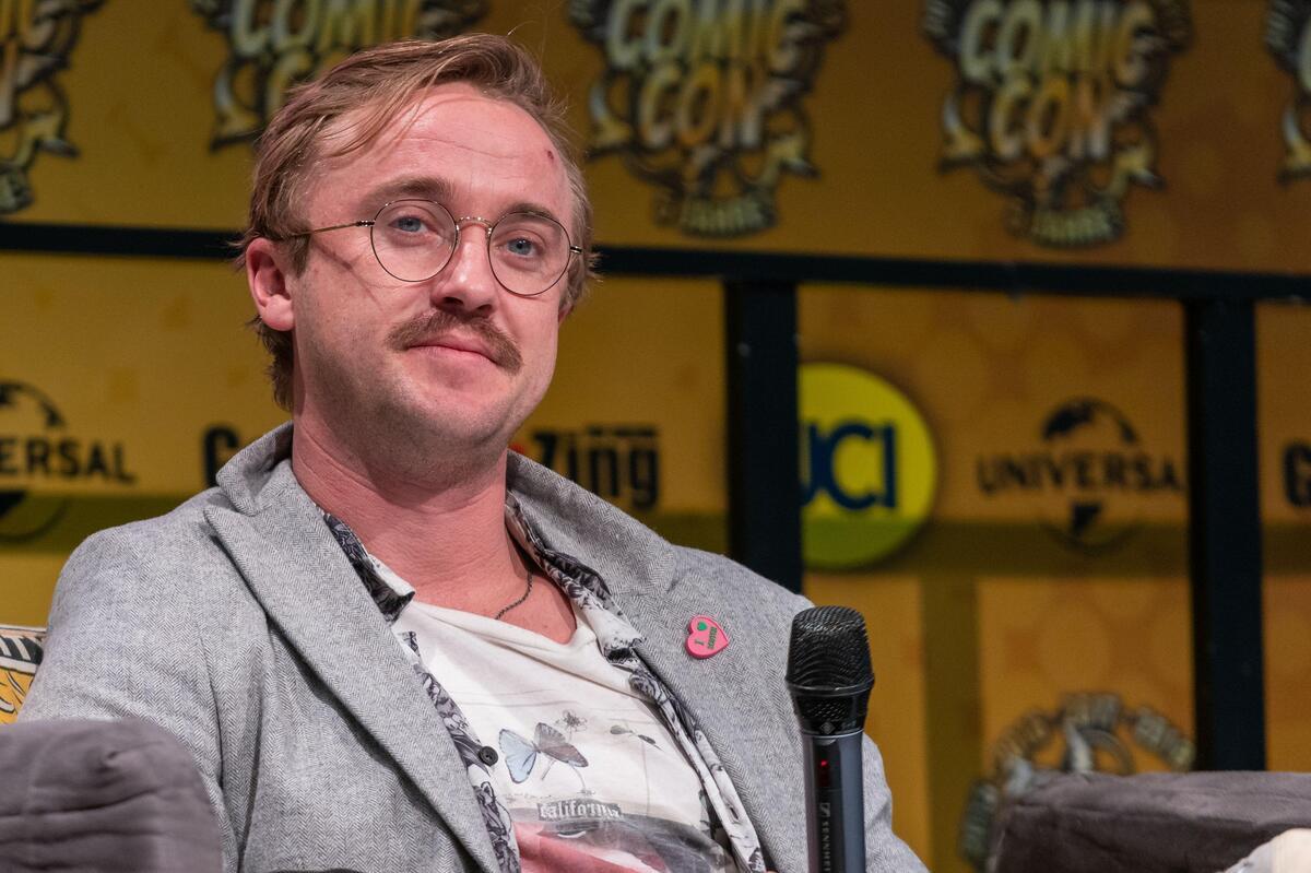 Том Фелтон мечтает о воссоединении каста «Гарри Поттера» на 19-летие франшизы