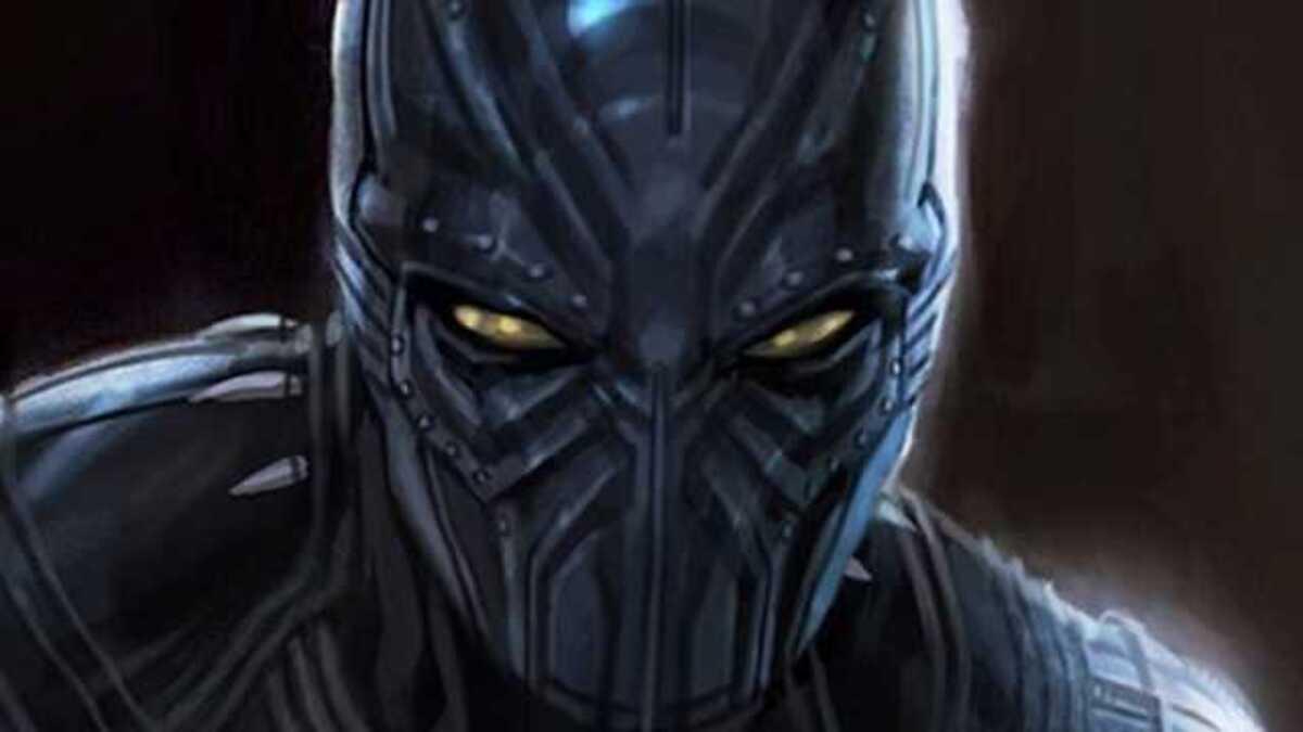 Концепт-арт «Черной Пантеры» показал, какой изначально была маска супергероя