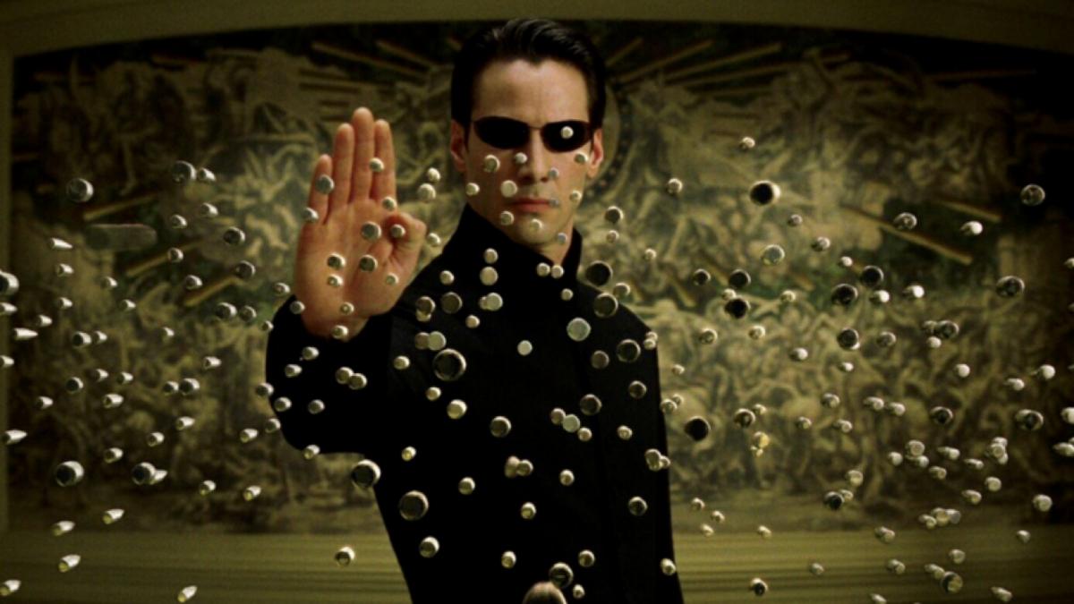 Возвращение Киану Ривза в образе Нео на фан-постере «Матрицы 4»