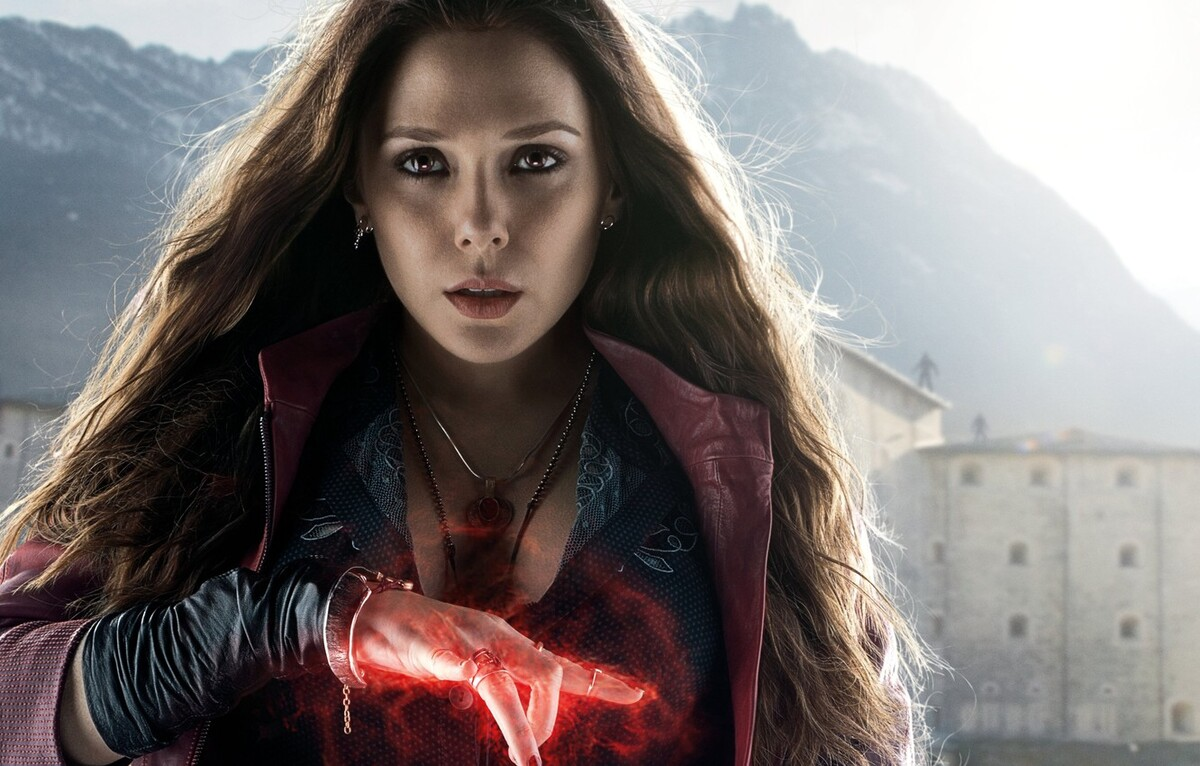 На фан-постере к сериалу «Ванда/Вижн» Алую Ведьму соединили с «Ребенком Розмари»