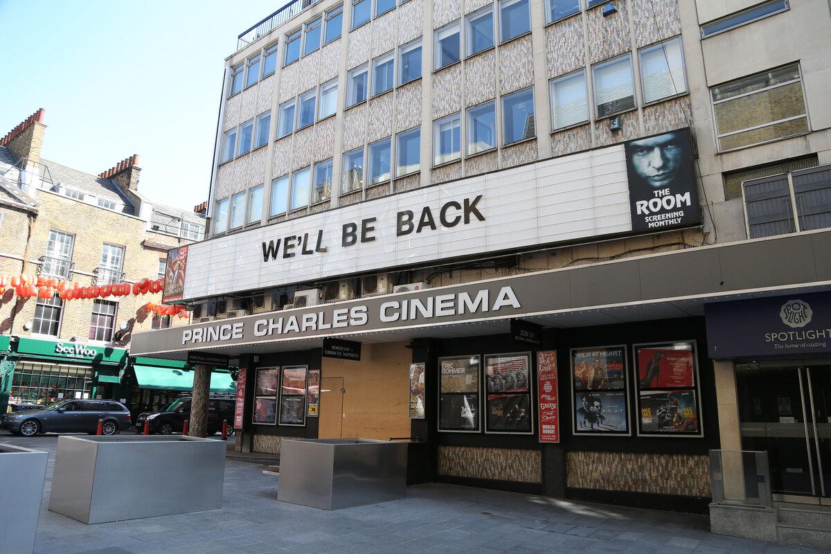 Лондонские и ливерпульские кинотеатры смогут открыться на следующей неделе