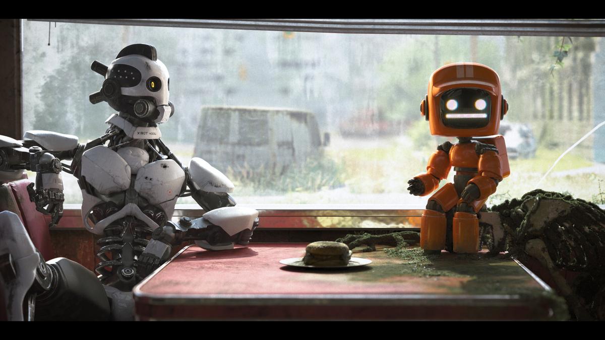 Третья часть сериала «Любовь. Смерть. Роботы» будет включать сиквел «Трех роботов»