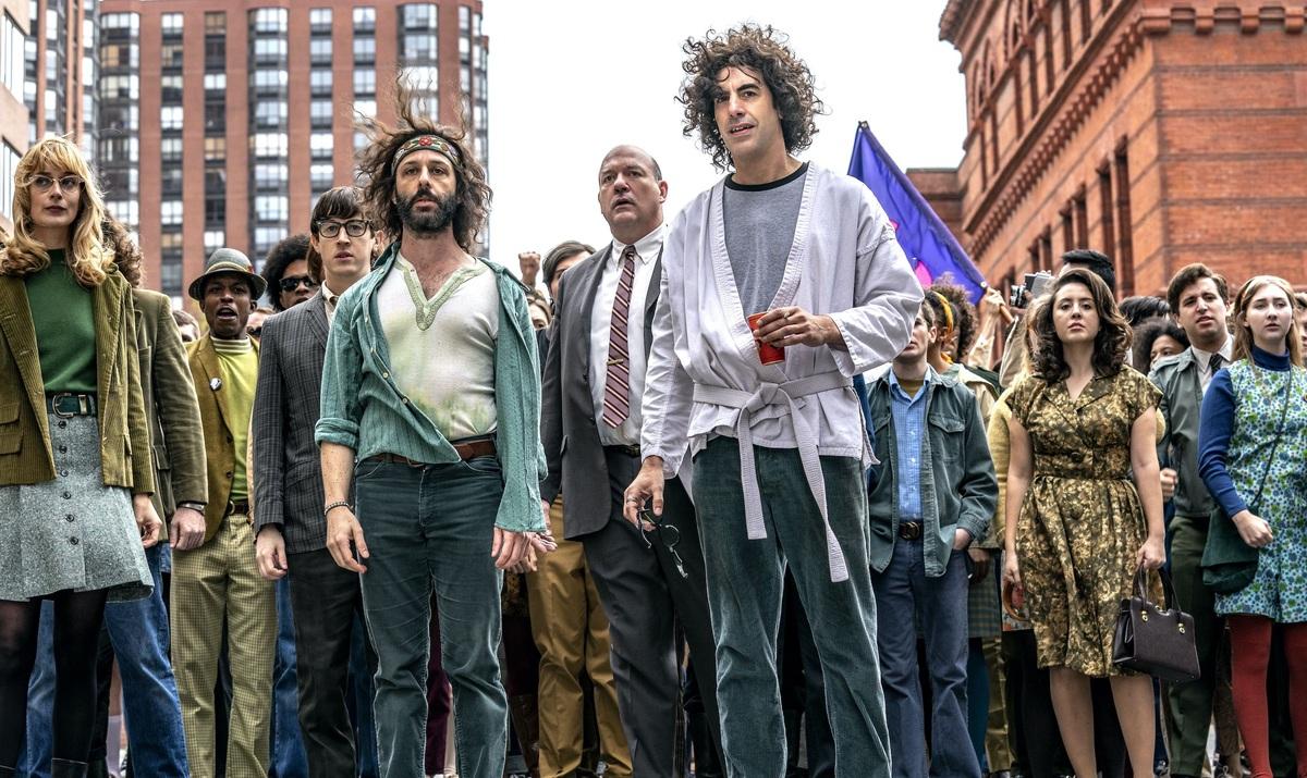 Netflix выпустил получасовой фильм о создании «Суда над чикагской семеркой»