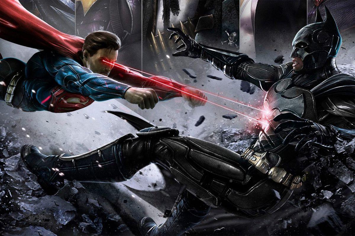 DC выпустит анимационный фильм Injustice о противостоянии Бэтмена и злого Супермена