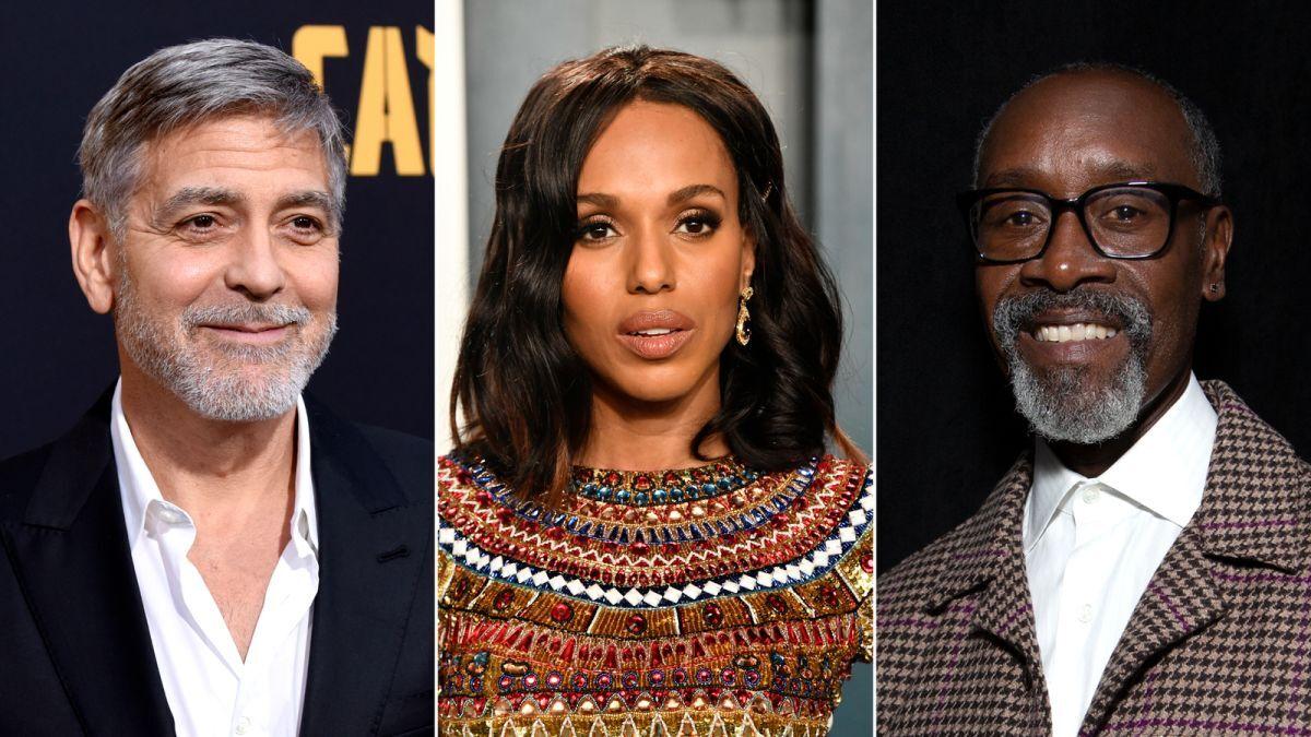 Джордж Клуни, Керри Вашингтон, Дон Чидл и другие звезды учредят киношколу для малоимущих общин