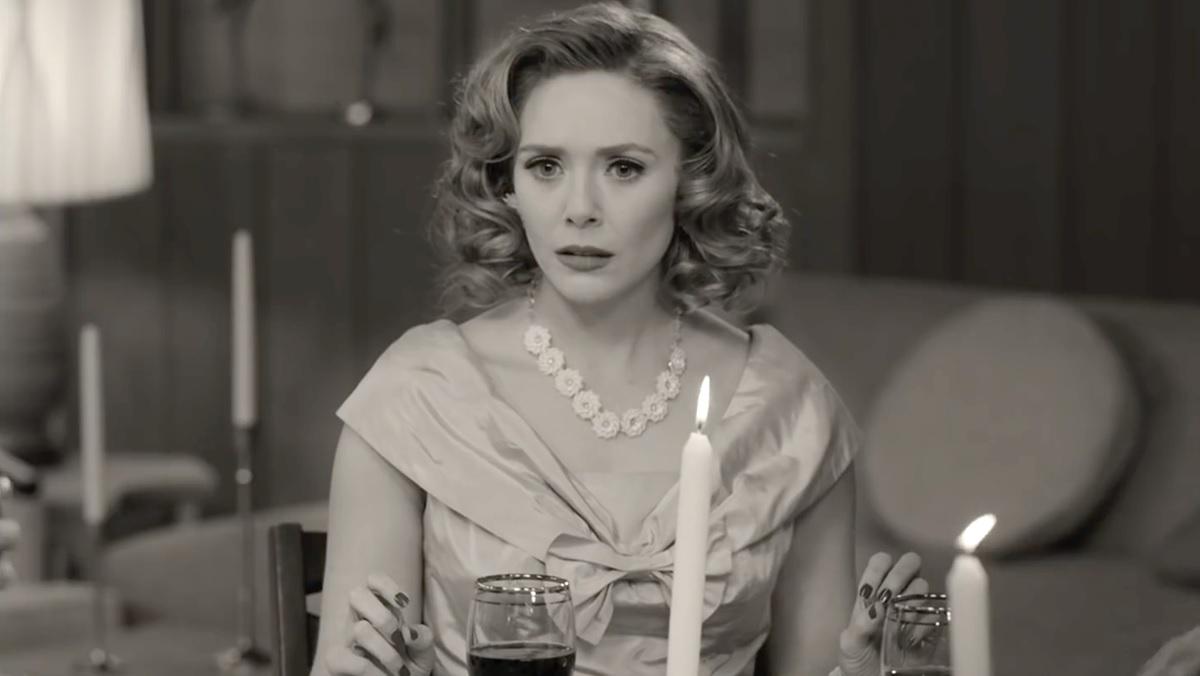 Мини-сериал Marvel «Ванда/Вижн» снимался перед живой аудиторией, как настоящий ситком из 1950-х