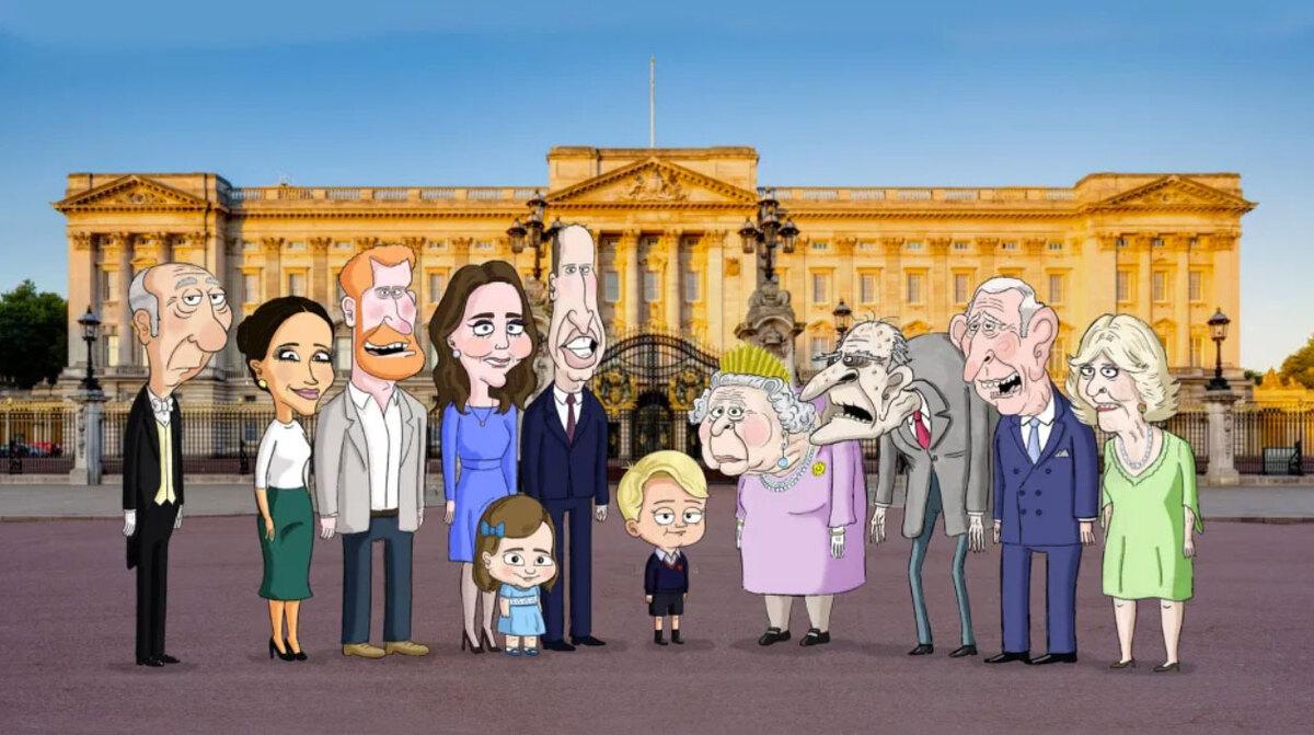 Премьеру сатирического мультсериала о британской королевской семье отложили из-за смерти принца Филиппа