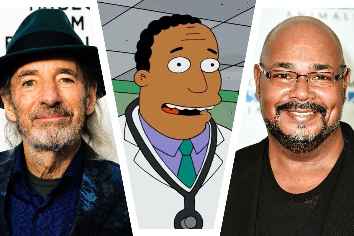 Отныне доктора Хибберта из «Симпсонов» будет озвучивать не Гарри Ширер, а чернокожий актер