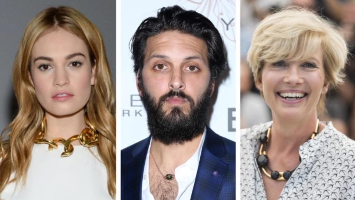 Лили Джеймс, Шазад Латиф и Эмма Томпсон исполнят ведущие роли в новом ромкоме