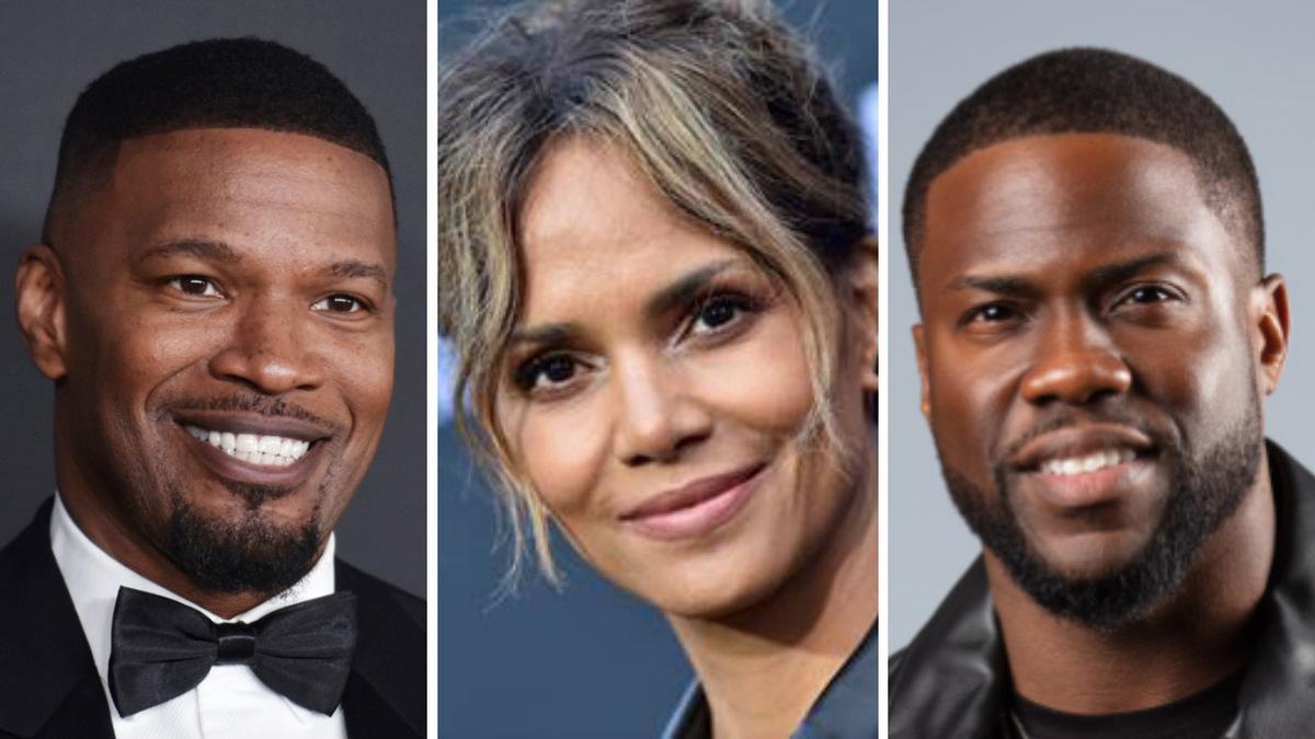Джейми Фокс, Холли Берри и Кевин Харт работают над документальным проектом об чернокожих кинозвездах