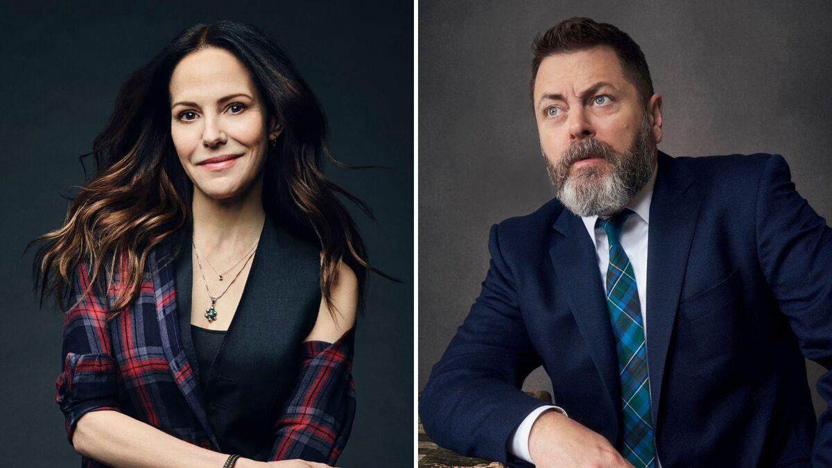 Мэри-Луиз Паркер и Ник Офферман сыграют приемных родителей в предстоящем сериале Netflix