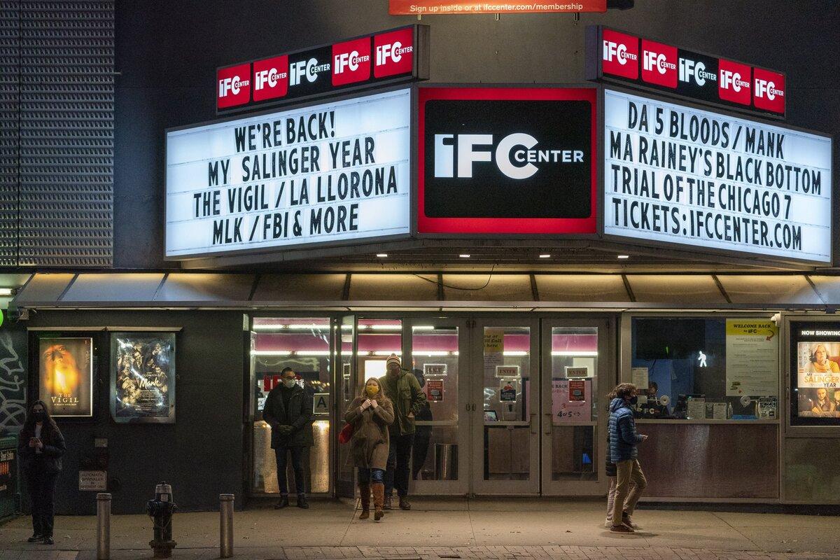 Заполняемость нью-йоркских кинотеатров вскоре увеличится до 33%