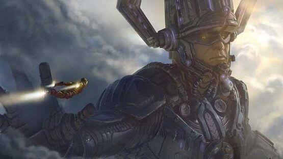 Галактус и Серебряный серфер засветились на фан-постере четвертой фазы MCU