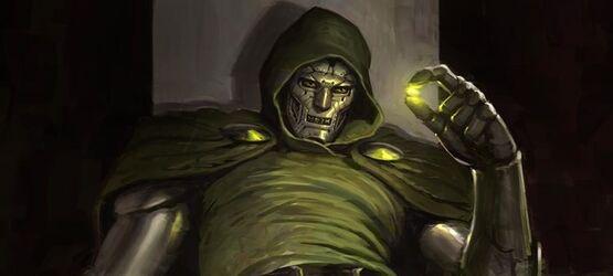 Художник Marvel показал концепт-арт Доктора Дума с Камнями бесконечности