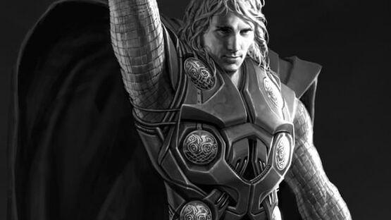 Звезда «Анатомии страсти» Кевин МакКидд примеряет образ Тора на раннем концепт-арте Marvel